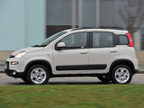 Fiat Panda Trekking UK-spec (319) 2013 photos