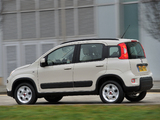 Fiat Panda Trekking UK-spec (319) 2013 photos