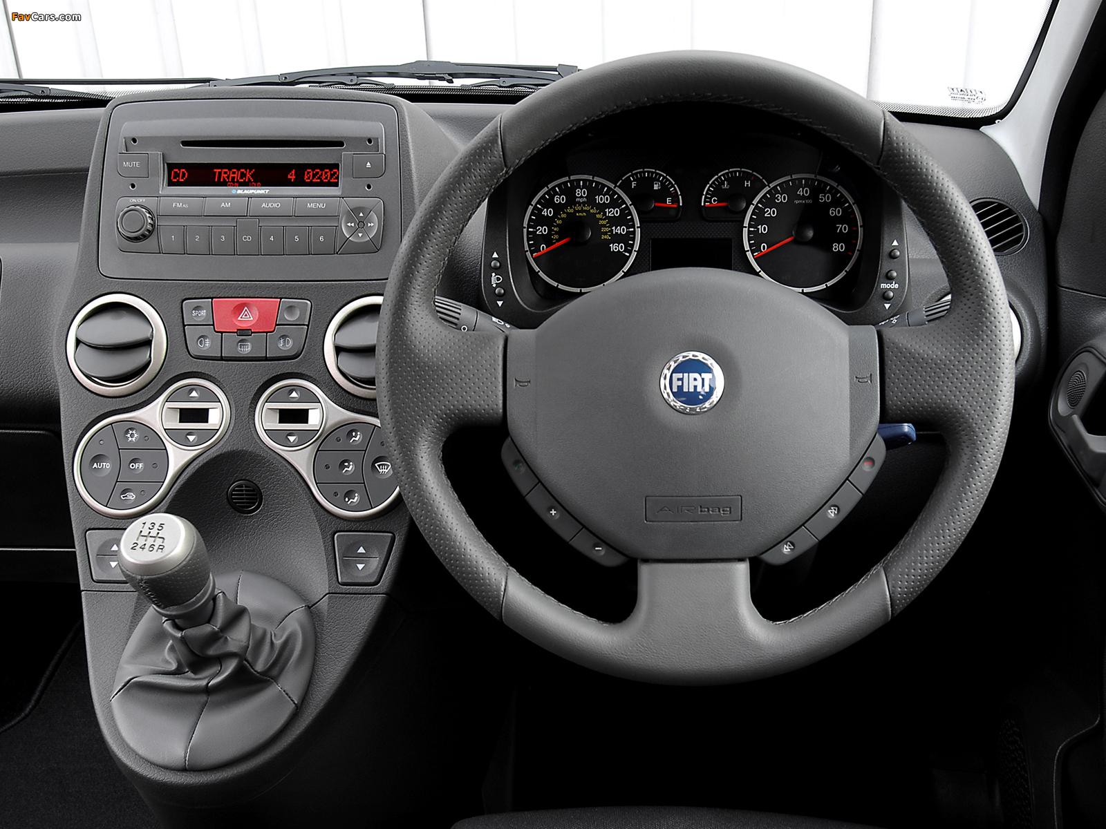 Images of Fiat Panda 100 HP UK-spec (169) 2006–10 (1600 x 1200)
