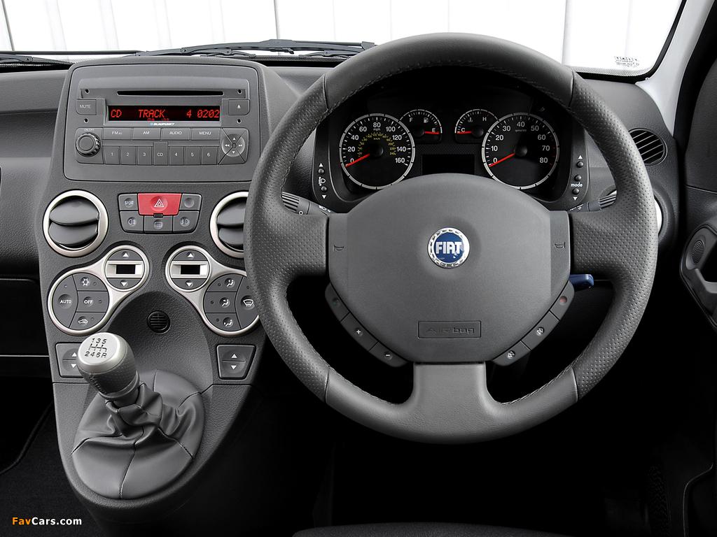 Images of Fiat Panda 100 HP UK-spec (169) 2006–10 (1024 x 768)