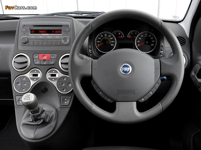 Images of Fiat Panda 100 HP UK-spec (169) 2006–10 (640 x 480)