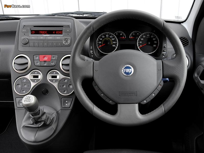 Images of Fiat Panda 100 HP UK-spec (169) 2006–10 (800 x 600)