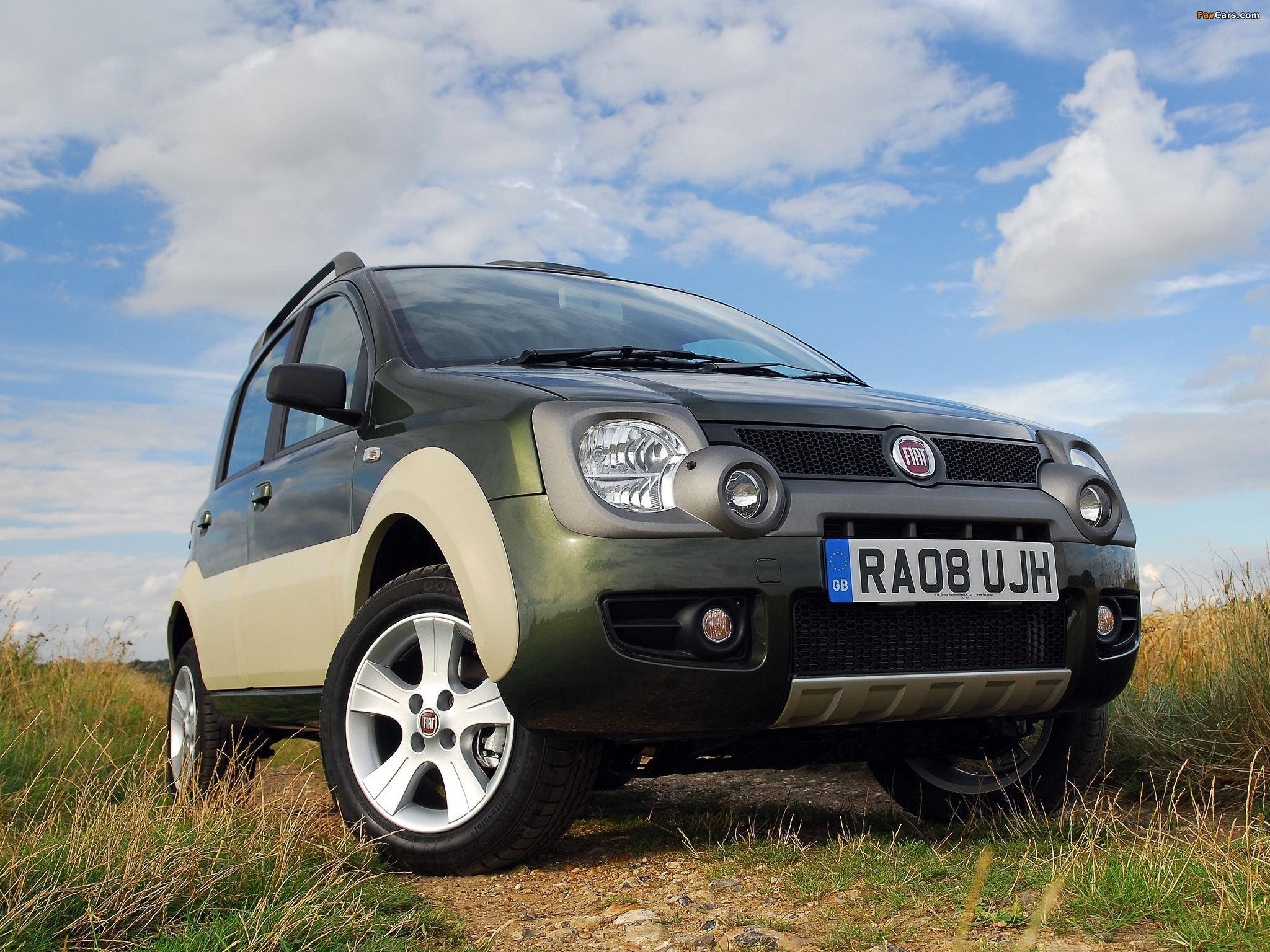 images of fiat panda 4x4 cross uk spec 169 2008 10 2048x1536. Black Bedroom Furniture Sets. Home Design Ideas