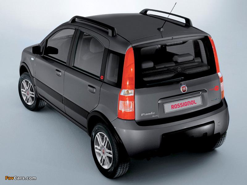 Images of Fiat Panda 4x4 Rossignol (169) 2008 (800 x 600)