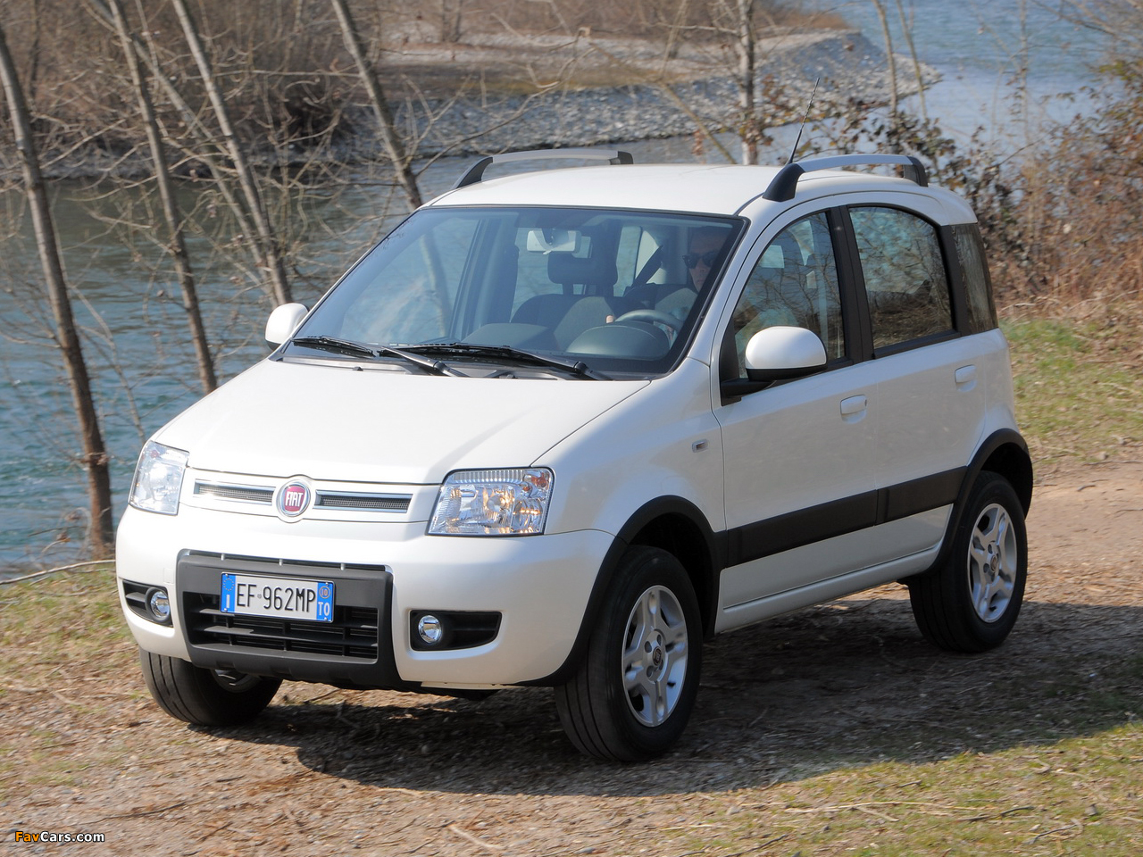 images of fiat panda 4x4 climbing 169 2009 12 1280x960. Black Bedroom Furniture Sets. Home Design Ideas