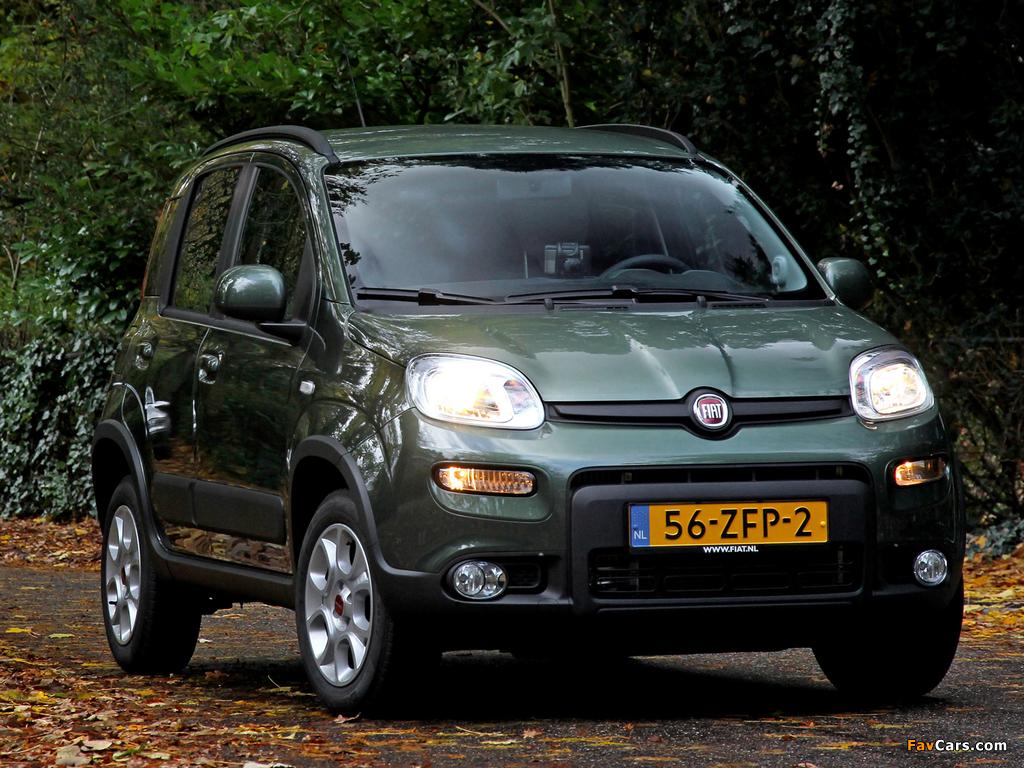 Images of Fiat Panda Trekking Natural Power (319) 2012 (1024 x 768)
