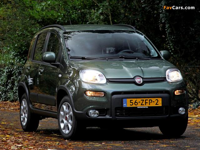 Images of Fiat Panda Trekking Natural Power (319) 2012 (640 x 480)