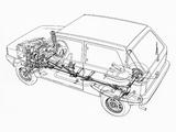 Photos of Fiat Panda 4x4 (153) 1983–86