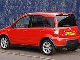 Photos of Fiat Panda 100HP UK-spec (169) 2006–10