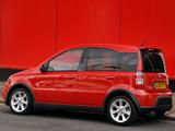 Photos of Fiat Panda 100 HP UK-spec (169) 2006–10