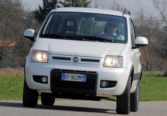 photos of fiat panda 4x4 climbing 169 2009 12. Black Bedroom Furniture Sets. Home Design Ideas