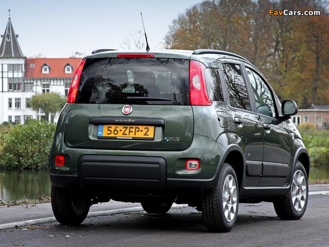 Photos of Fiat Panda Trekking Natural Power (319) 2012 (640 x 480)