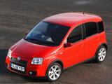 Pictures of Fiat Panda 100 HP UK-spec (169) 2006–10