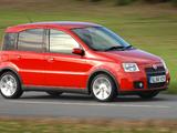 Pictures of Fiat Panda 100HP UK-spec (169) 2006–10