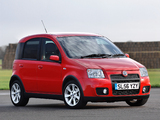 Pictures of Fiat Panda 100 HP UK-spec (169) 2006–10