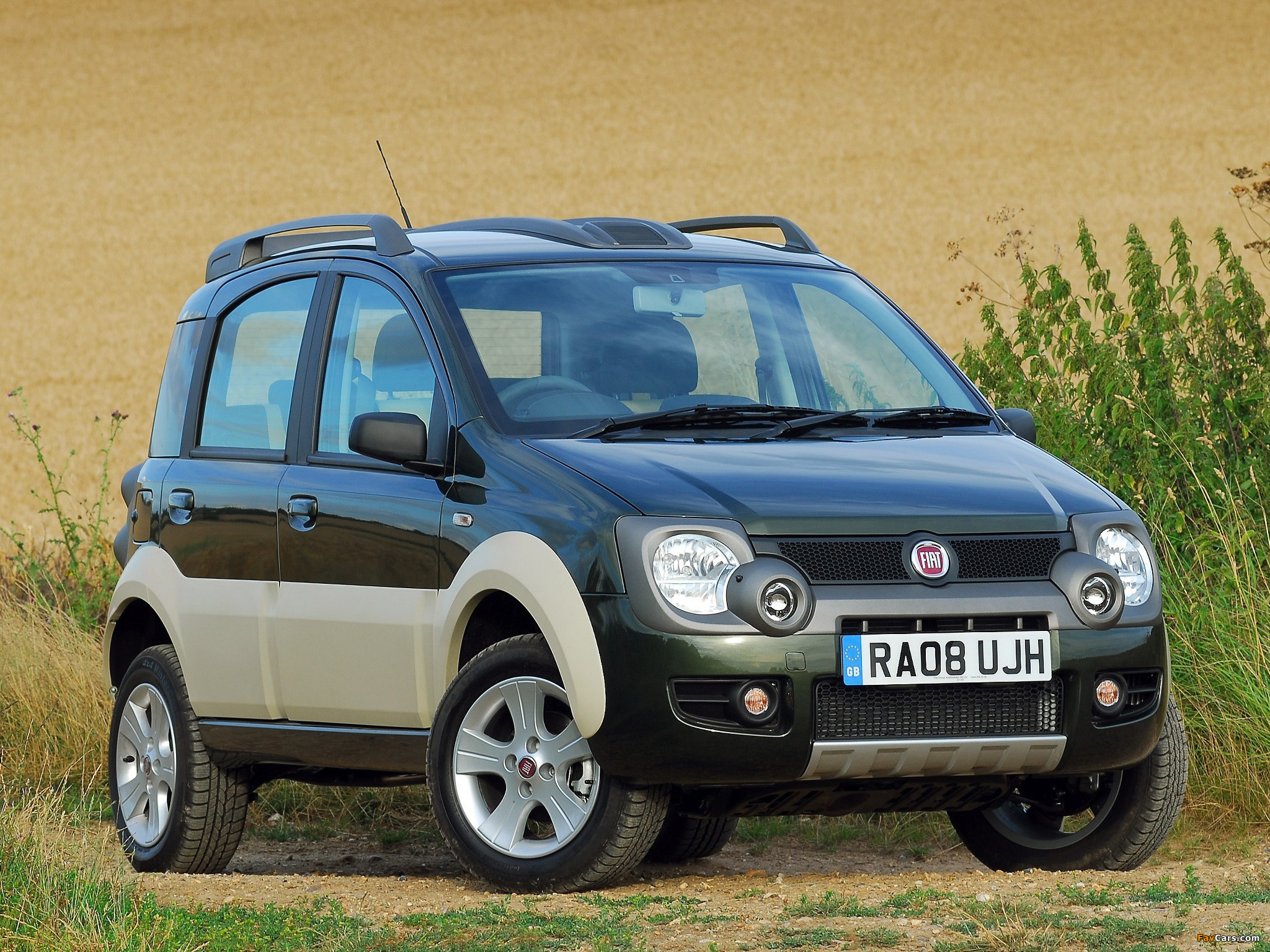 pictures of fiat panda 4x4 cross uk spec 169 2008 10 2048x1536. Black Bedroom Furniture Sets. Home Design Ideas