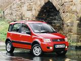 Fiat Panda 4x4 Climbing UK-spec (169) 2005–09 wallpapers