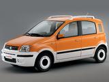 Fiat Panda Alessi (169) 2006–07 wallpapers