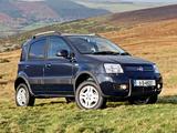 Fiat Panda 4x4 Climbing UK-spec (169) 2009–10 wallpapers
