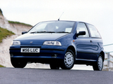 Fiat Punto 3-door UK-spec (176) 1993–99 images