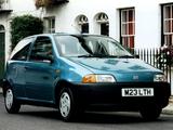 Fiat Punto 3-door UK-spec (176) 1993–99 images