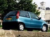 Fiat Punto 3-door UK-spec (176) 1993–99 photos