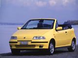 Fiat Punto Cabrio ELX (176) 1994–2000 images