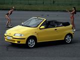 Fiat Punto Cabrio ELX (176) 1994–2000 pictures