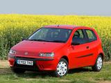 Fiat Punto 3-door UK-spec (188) 1999–2003 images