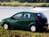 Fiat Punto 5-door UK-spec (188) 1999–2003 images