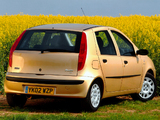 Fiat Punto 5-door UK-spec (188) 1999–2003 photos