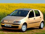 Fiat Punto 5-door UK-spec (188) 1999–2003 wallpapers