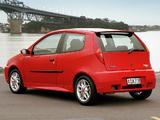 Fiat Punto HGT Abarth NZ-spec (188) 2002–03 images