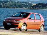 Fiat Punto 5-door NZ-spec (188) 2002–03 photos