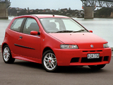 Fiat Punto HGT Abarth NZ-spec (188) 2002–03 wallpapers