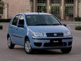 Fiat Punto 5-door ZA-spec (188) 2003–05 images