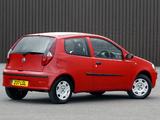 Fiat Punto 3-door UK-spec (188) 2003–05 images