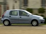 Fiat Punto 5-door (188) 2003–07 photos