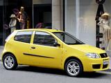 Fiat Punto Sporting UK-spec (188) 2003–05 pictures