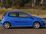 Fiat Punto HGT ZA-spec (188) 2003–05 pictures