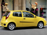 Fiat Punto Sporting UK-spec (188) 2003–05 wallpapers