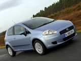 Fiat Grande Punto 3-door UK-spec (199) 2006–10 images