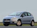 Fiat Grande Punto 3-door UK-spec (199) 2006–10 photos