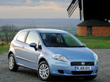 Fiat Grande Punto 3-door UK-spec (199) 2006–10 pictures