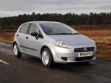 Fiat Grande Punto 5-door UK-spec (199) 2006–10 pictures