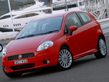 Fiat Punto T-Jet 3-door AU-spec (199) 2008–09 images