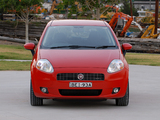 Fiat Punto T-Jet 3-door AU-spec (199) 2008–09 wallpapers