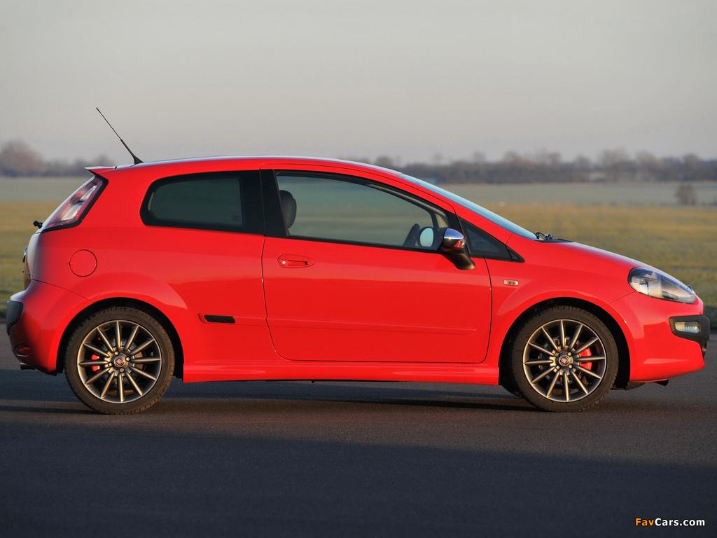 Fiat Punto Evo 3-door UK-spec (199) 2010–12 images (1024 x 768)