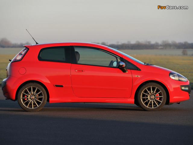 Fiat Punto Evo 3-door UK-spec (199) 2010–12 images (640 x 480)
