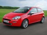 Fiat Punto 3-door UK-spec (199) 2012 photos